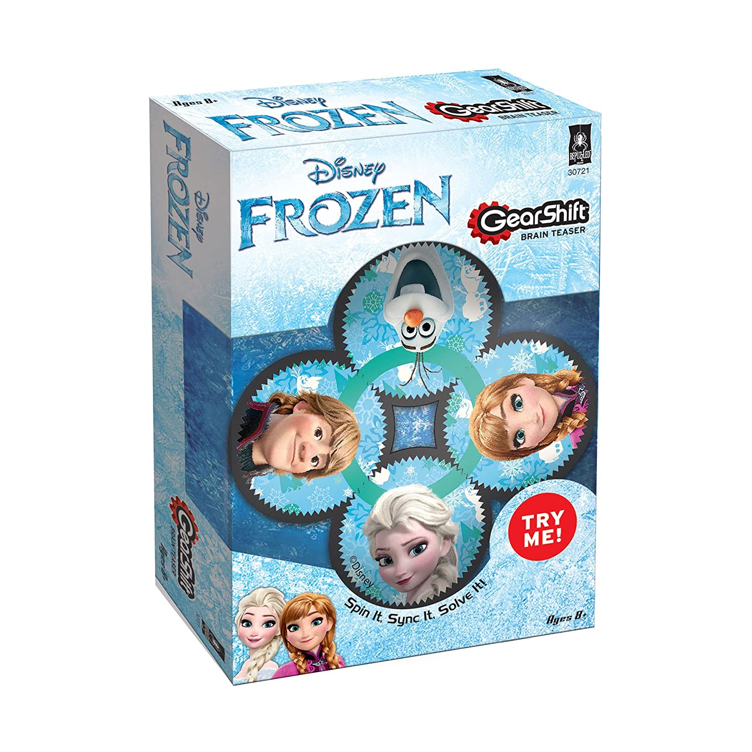 BePuzzled Frozen Gearshift Puzzle (4 Pieces) 30721