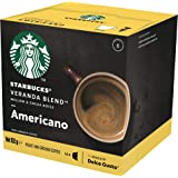 Starbucks Veranda Blend by NESCAFE Dolce Gusto Blonde Roast Coffee Pods, Box of 12 Capsules, 102g (12 Serves)