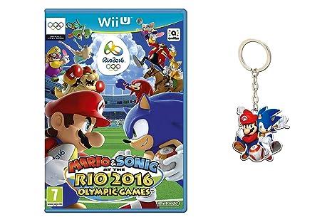 Mario & Sonic En Las Olimpiadas De Río 2016 + Llavero ...