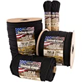TOUGH-GRID 750lb Paracord / Parachute Cord - Genuine Mil Spec Type IV 750lb Paracord Used by The US Military (MIl-C-5040-H) -
