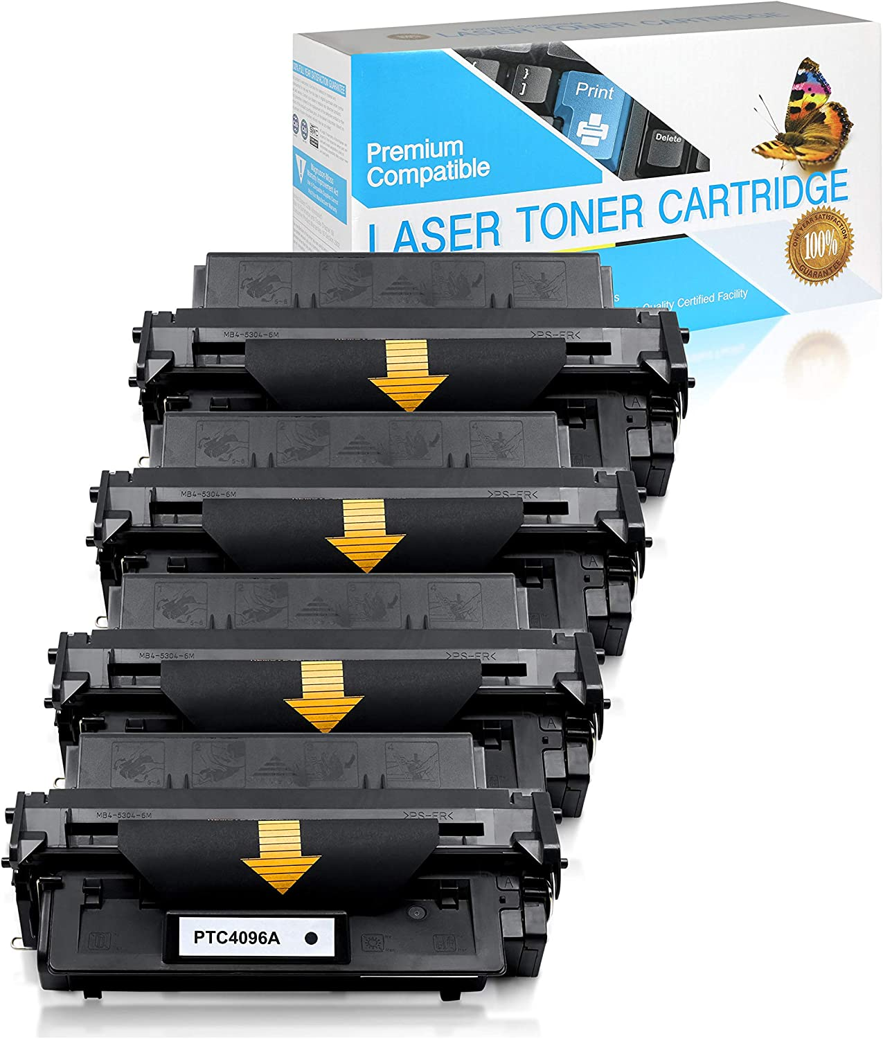 Jumbo Black,1 Pack Q2612A SuppliesOutlet Compatible Toner Cartridge Replacement for HP 12A