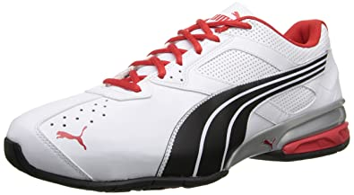 newest e3f9b 421f4 Puma Tazon 5 Nm, Baskets pour Homme - Blanc - Blanc Noir Rouge