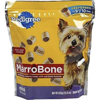 Amazon.com : PEDIGREE MARROBONE Dog Treats Real Beef