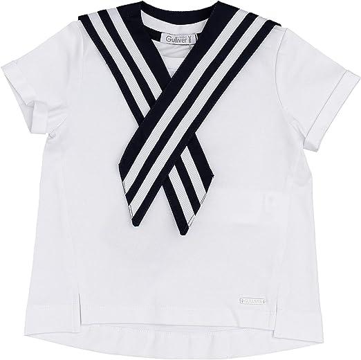 GULLIVER Baby T-Shirt Kinder T Shirt M/ädchen Baby Weiss Kurzarm 9-24 Monate 74-92 cm