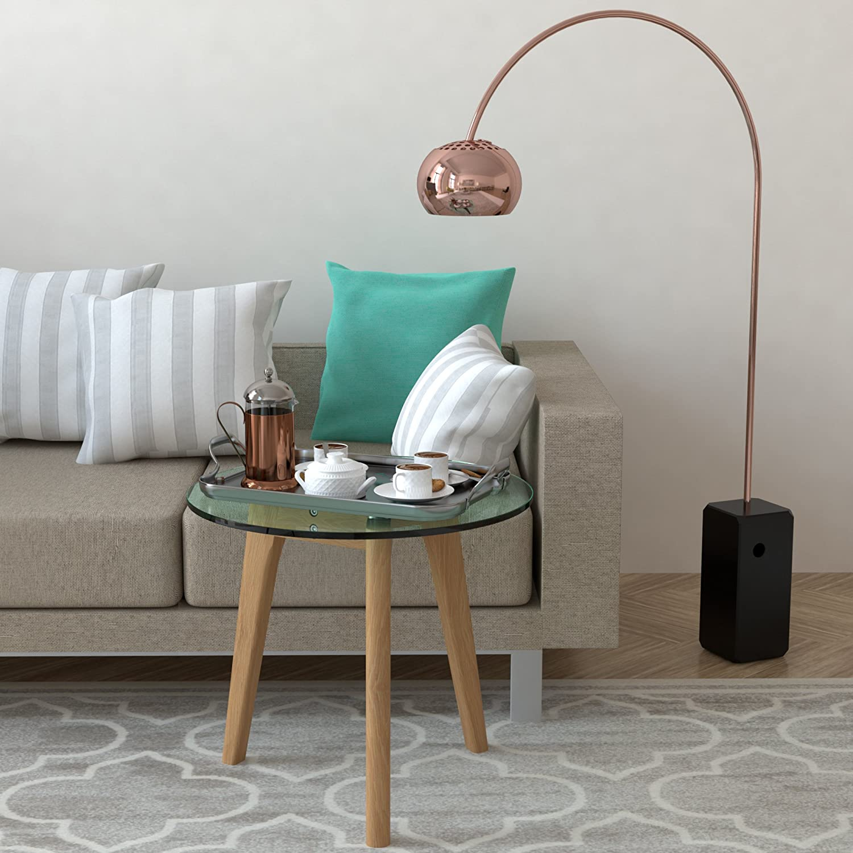 bonVIVO® Filippa beautiful designer coffee table, vintage console ...