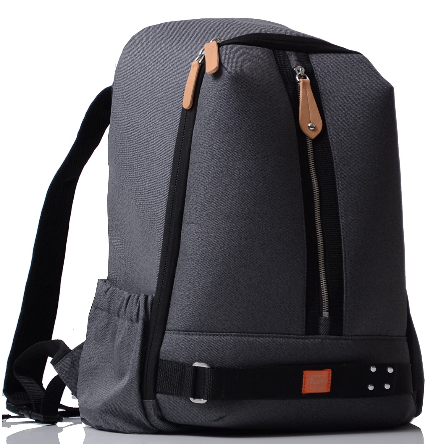 fef19b51b6f2 PacaPod Picos Pack Black Charcoal Designer Baby Changing Bag - Unisex  Luxury Black Backpack 3 in 1 Organising System  Amazon.co.uk  Baby