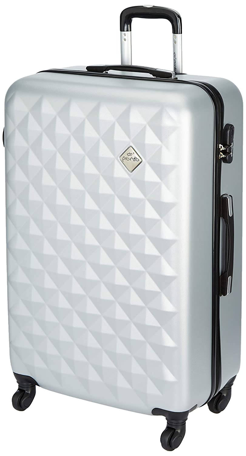 Pronto Naples ABS 75 cms Silver Hardsided Check-in Luggage