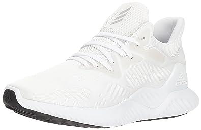 adidas Men's Alphabounce Beyond Running Shoe, Silver Metallic/White, 11.5 M  US