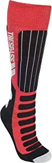 Trespass Gateway Chaussettes de Ski Enfant Rouge FR : XL (Taille Fabricant : 9-12) TRF67|#Trespass UCSOSKG10002_RED9/12