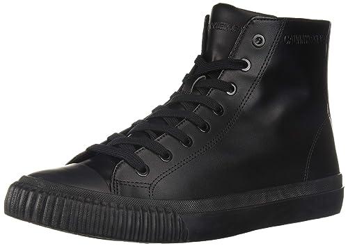 Calvin Klein Jeans Polacchine ICARO Nappa Smooth S1736 Nero Uomo Casual   Amazon.it  Scarpe e borse 1852fdf2286
