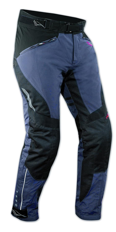 A-Pro Pantaloni Impermeabile Moto Imbottitura Termica Estraibile Traspirante Nero 32 5180000033736