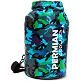 PERMIAN Portable Cooler Bag Roll Top, Camouflage, Insulated, 15L - Foldable, Waterproof Dry Bag Hunting & Fishing, Cooler Bac
