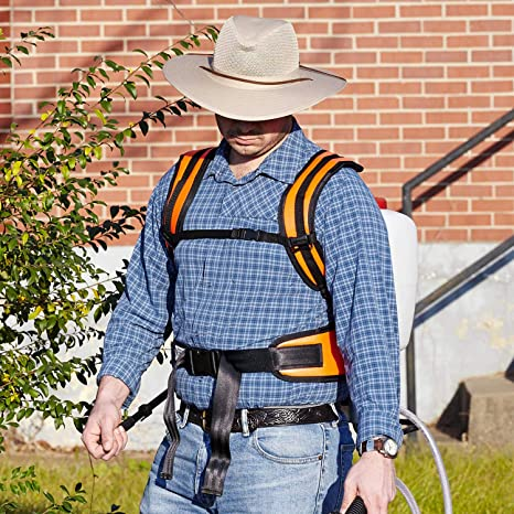 Amazon.com : Deluxe Shoulder Saver Harness : Lawn And Garden ...