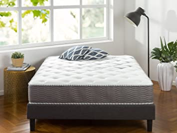 zinus 10 inch performance plus extra firm spring mattress king