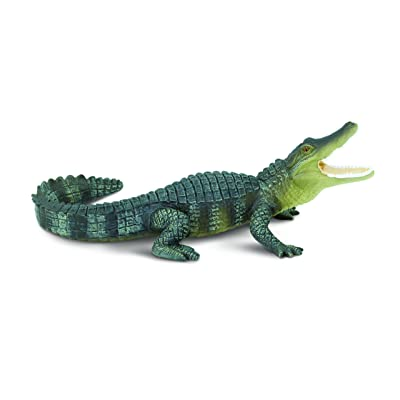 Safari Ltd Wild Safari Wildlife Alligator: Toys & Games