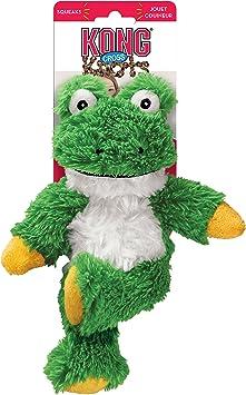 KONG Cross Knots Frog Dog Toy, SmallMedium