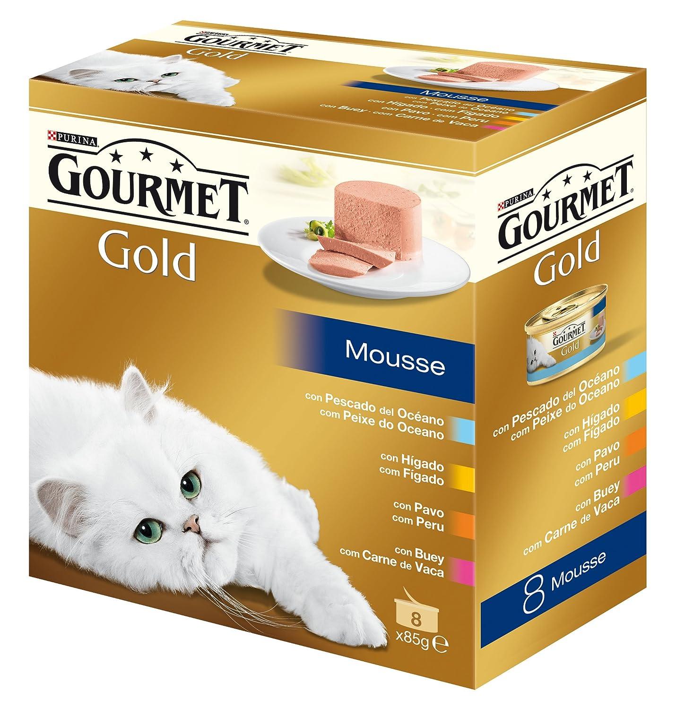 Gourmet - Alimento para Gato - Húmedo - Gold Mousse Pack Surtido 680 g: Amazon.es: Productos para mascotas