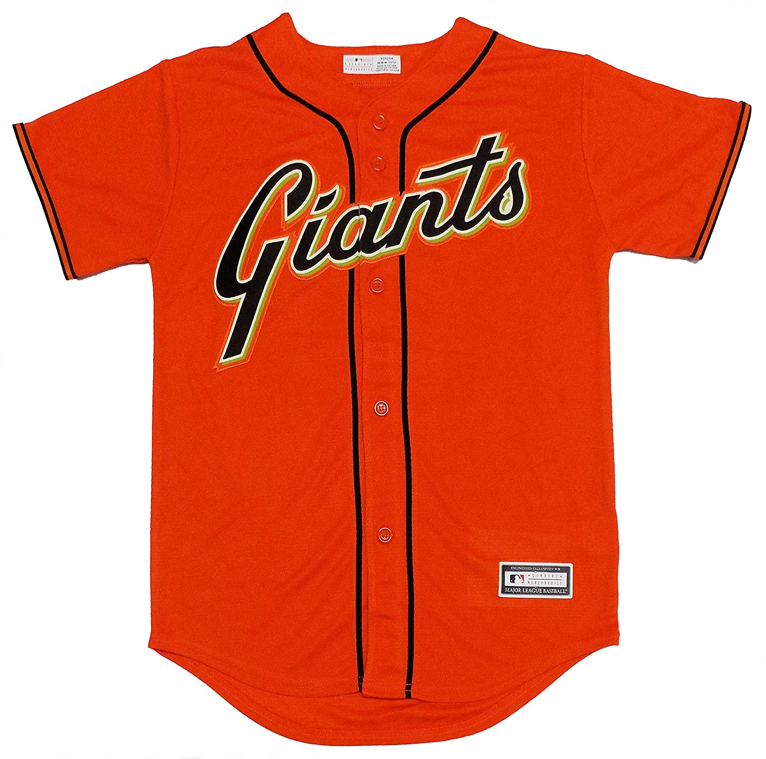 timeless design 4ea15 7f894 Amazon.com: Brandon Crawford San Francisco Giants Orange ...