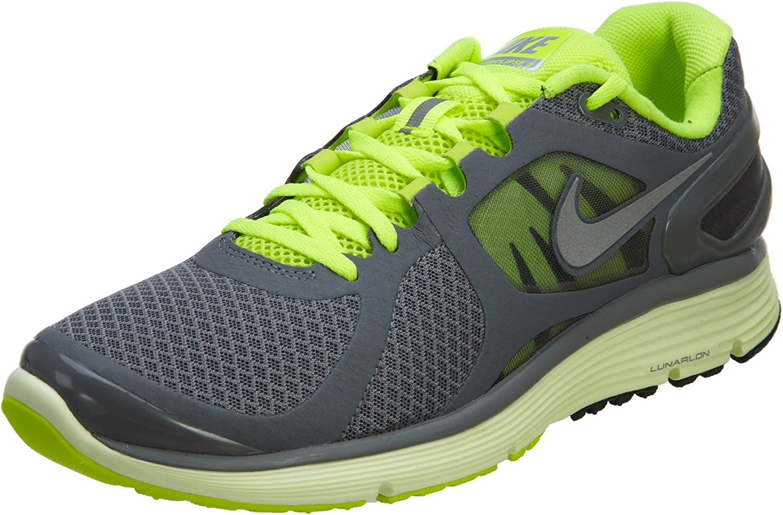 Nike Lunareclipse 2 Women's Running Shoes Cl Grey RFLCT Slvr Brly VLT