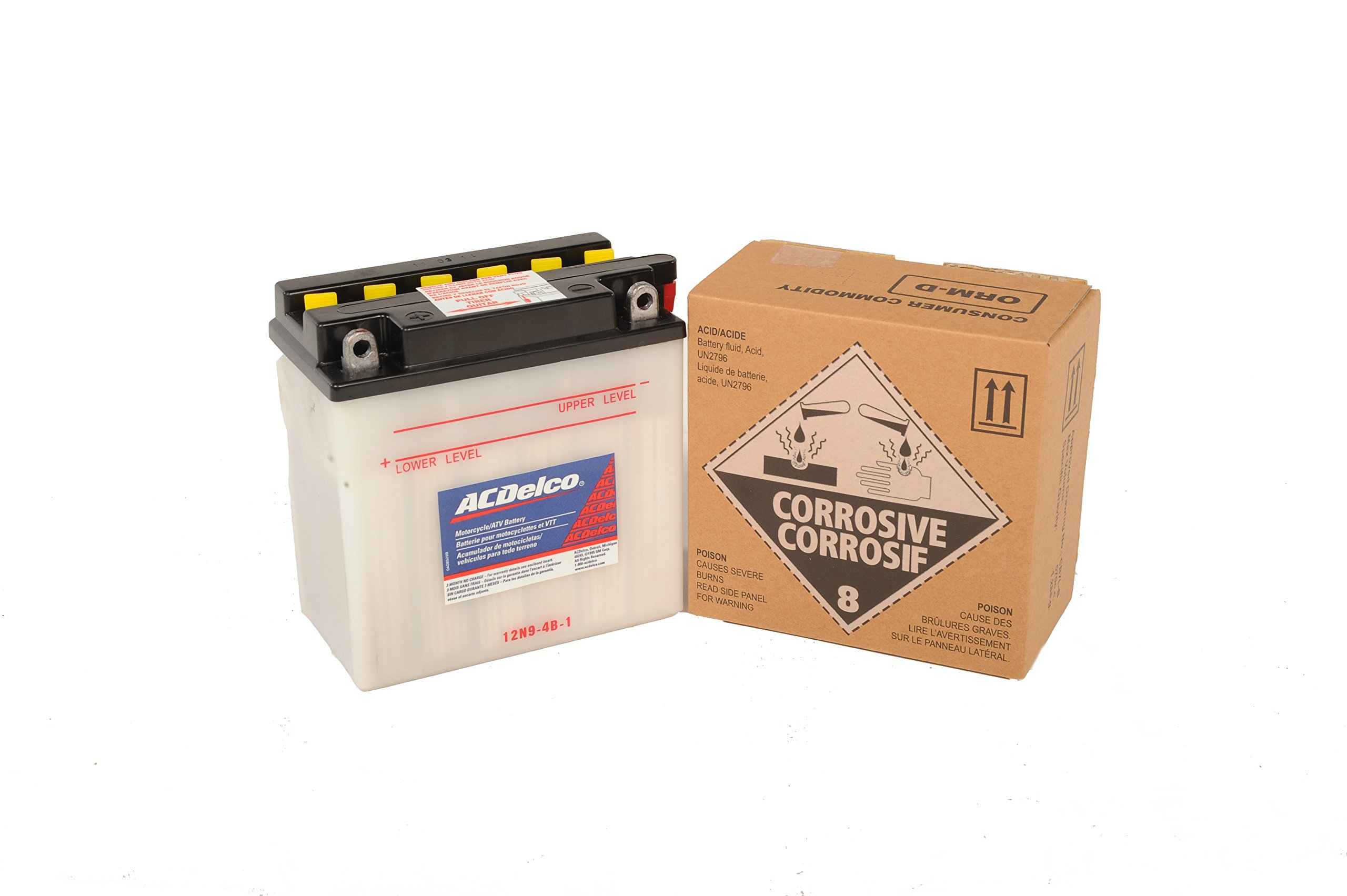 ACDelco AB12N94B1 Specialty Conventional Powersports JIS 12N9-4B-1 Battery by ACDelco (Image #5)