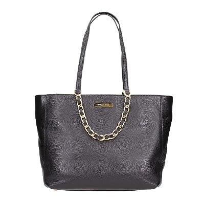 32350f44c578 Amazon.com: Michael Kors Harper Tote Bag Leather (Black) (35H5GRPT7E): Shoes