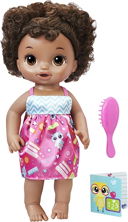 Ready For School Black Baby Alive Doll