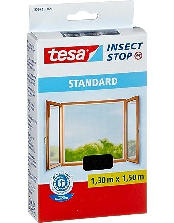 tesa 55672-00021-02 Malla Mosquitera Standard para Ventanas, 1,3 M X
