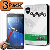 [3-Pack] Galaxy J5 (2016) Screen Protector, PThink® [Tempered Glass] [9H Hardness] [Anti-Scratch] [Fingerprint Resistant] [Easy-Install] Glass Screen Protector for Samsung Galaxy J5 2016 Released