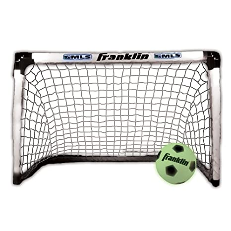 e8f03eb08 Amazon.com : Franklin Sports MLS Light Up Soccer Goal and Ball Set ...