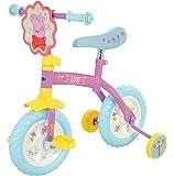 Peppa Pig M14270 10-Inch 2-in-1 Training Bike