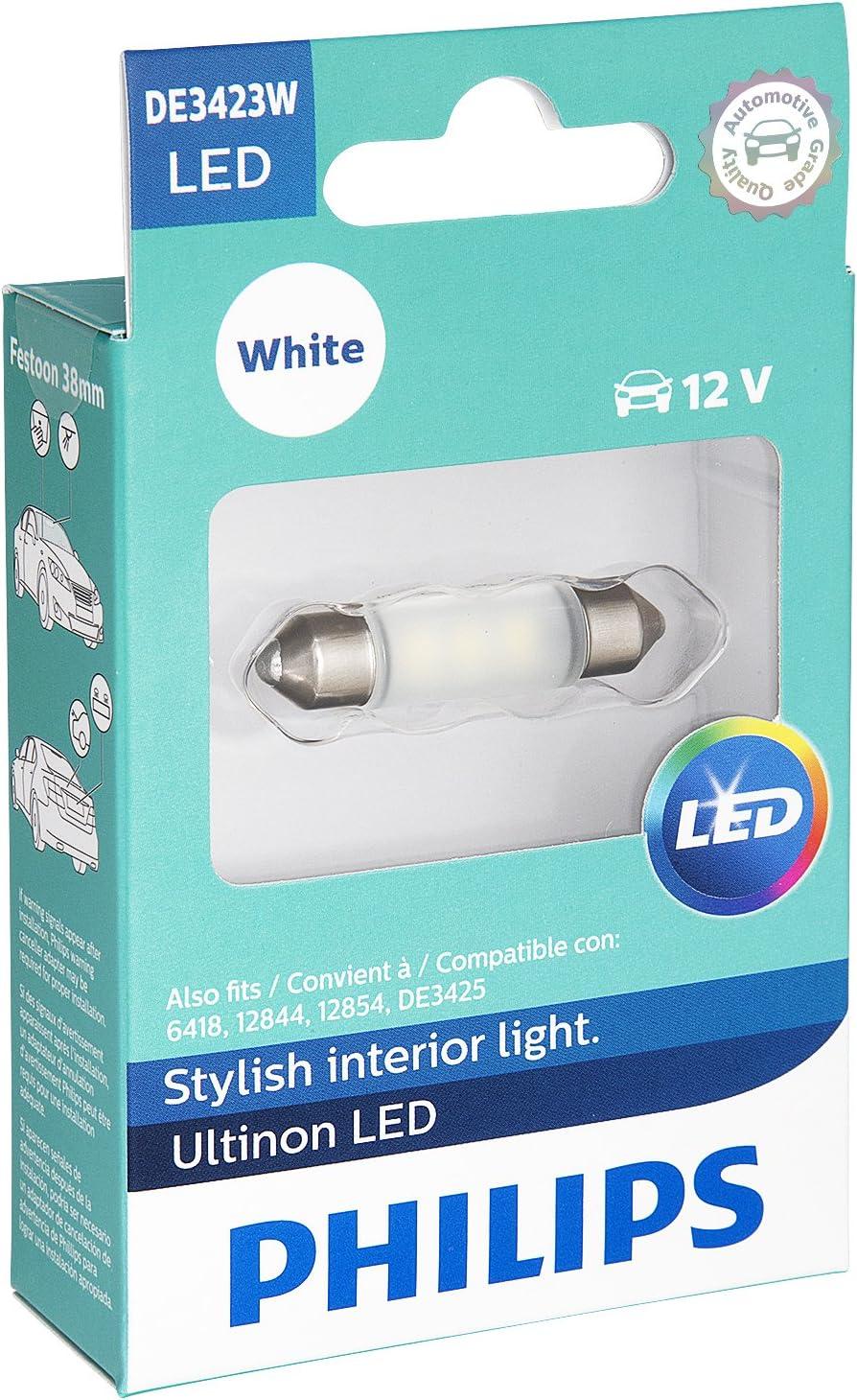 Philips DE3423WLED Ultinon LED Bulb (White), 1 Pack
