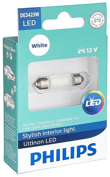 Amazon.com: Philips DE3423 Ultinon LED Bulb (White), 1 Pack ...