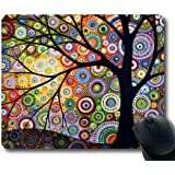 funny cat Personalized Unique Design Durable Printing oblong shaped Mouse Pad