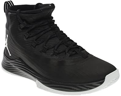 competitive price c678e f7ac5 Image Unavailable. Image not available for. Color  Nike Men s JR Ultra Fly  Basketball Shoe Black Anthracite White 11.5