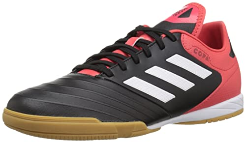 new arrival 10b1d c5e95 adidas Mens COPA Tango 18.3 Indoor Soccer Shoes, Core BlackWhiteReal  Coral