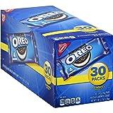 Oreo Chocolate Sandwich Cookies - 30 Snack Packs (120 Cookies Total)