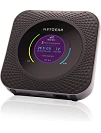 NETGEAR Nighthawk M1 Mobile Hotspot 4G LTE Router MR1100 - Up to 1Gbps Download Speed | WiFi Connect up to 20 Devices...