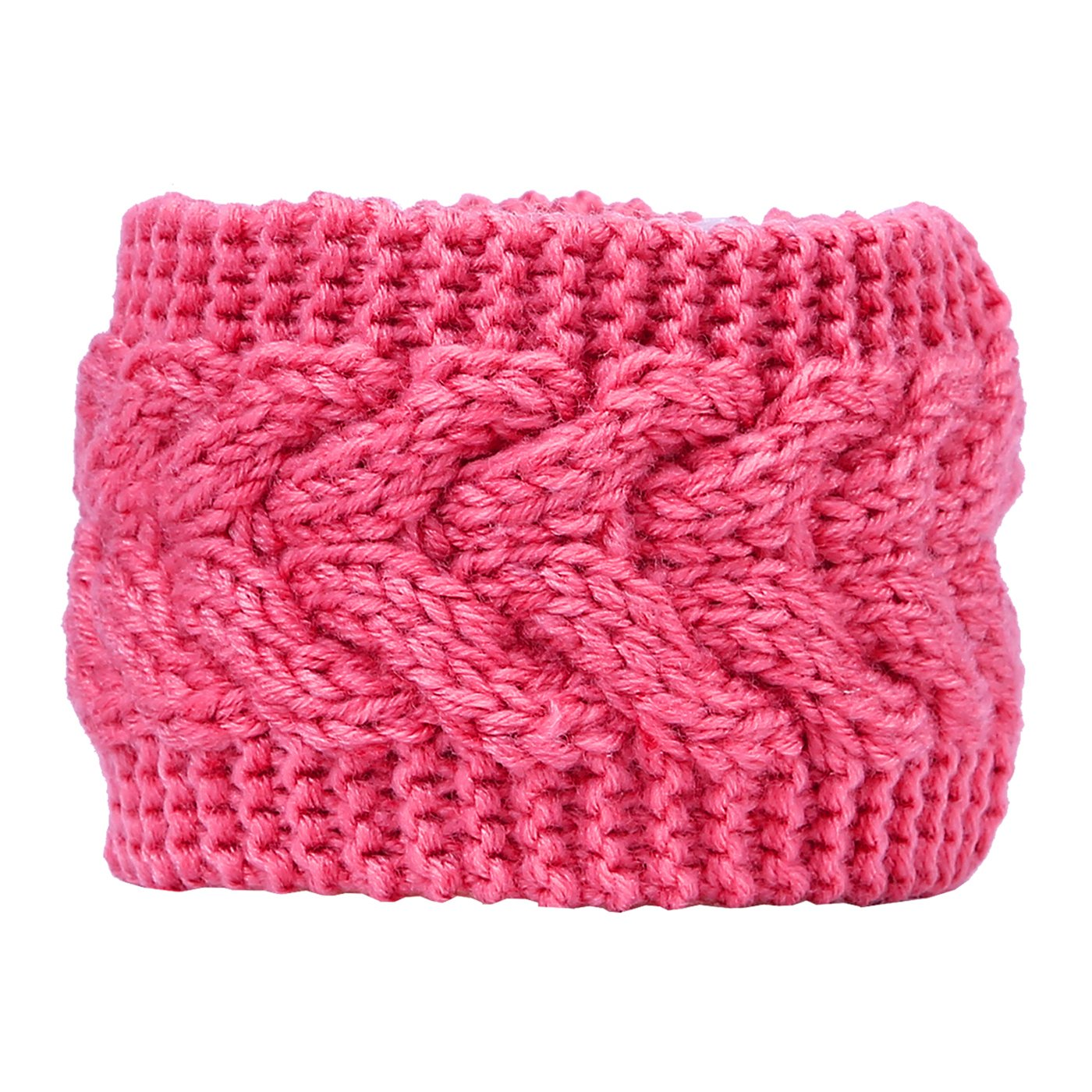 HDE Women's Knit Headband Braided Crochet Cable Knit Ear Warmer Winter Hairband HDE-X337-2014