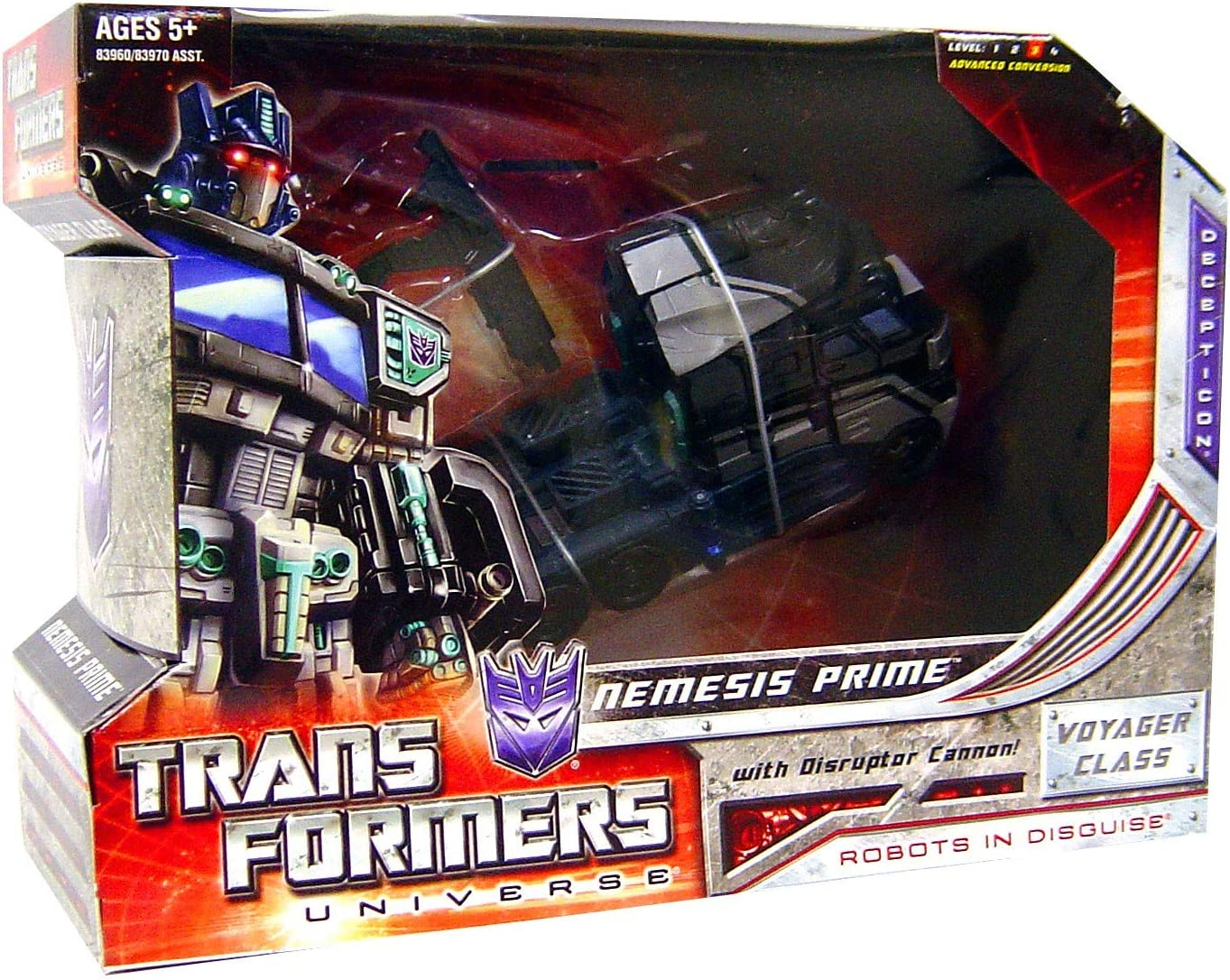 Transformers Nemesis Prime 2008 SDCC Exclusive (japan import ...