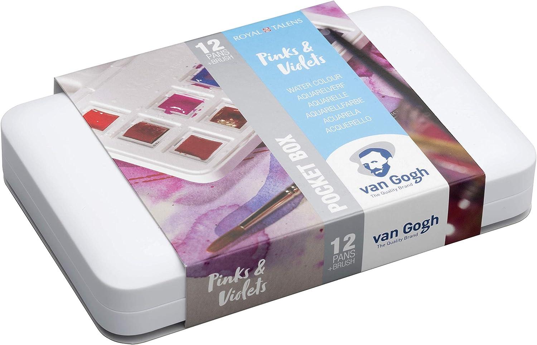 B/ürobedarf A4 Van Gogh Museum Van Gogh Aufbewahrungsbox mit Deckel Aktenhalter f/ür Dokumente und Dokumente