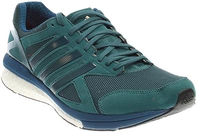 adidas Men s Adizero Tempo 8 m Running Shoe Green Tech Steel Fabric 054575e07