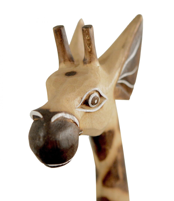 Amazon.de: Holz-Giraffe Deko-Giraffe, Grösse:ca. 100 cm