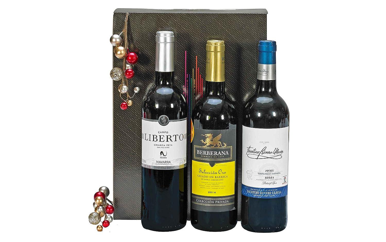 Lote Cesta Gourmet de Navidad - ESTUCHE REGALO VINOS Incluye ...