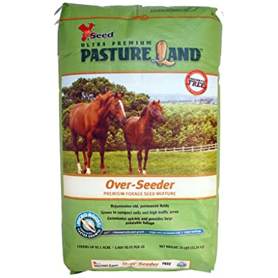 X-Seed 440FS0021UCT185 Pasture Land Over-Seeder Forage Seed, 25-Pound : Garden & Outdoor