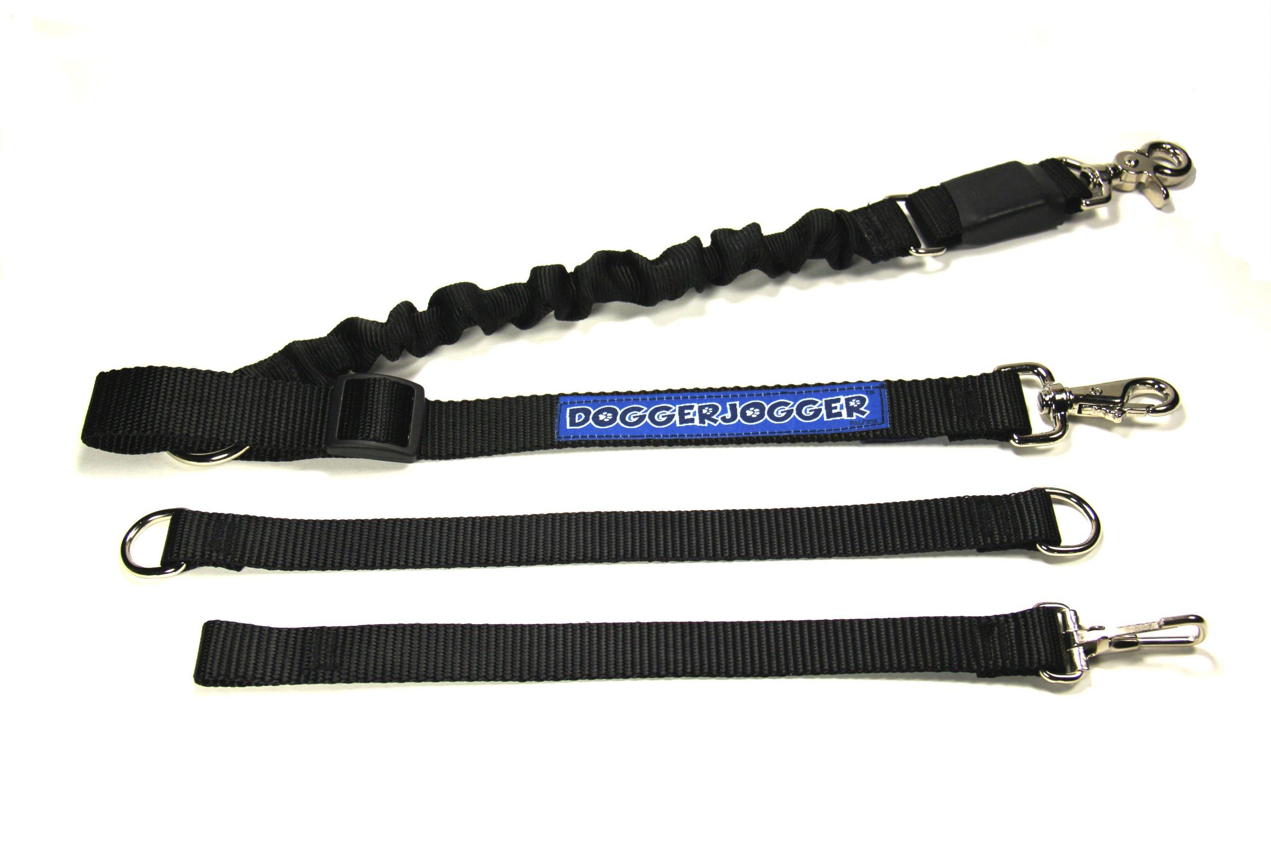 DoggerJogger Bike Dog Leash (Black)