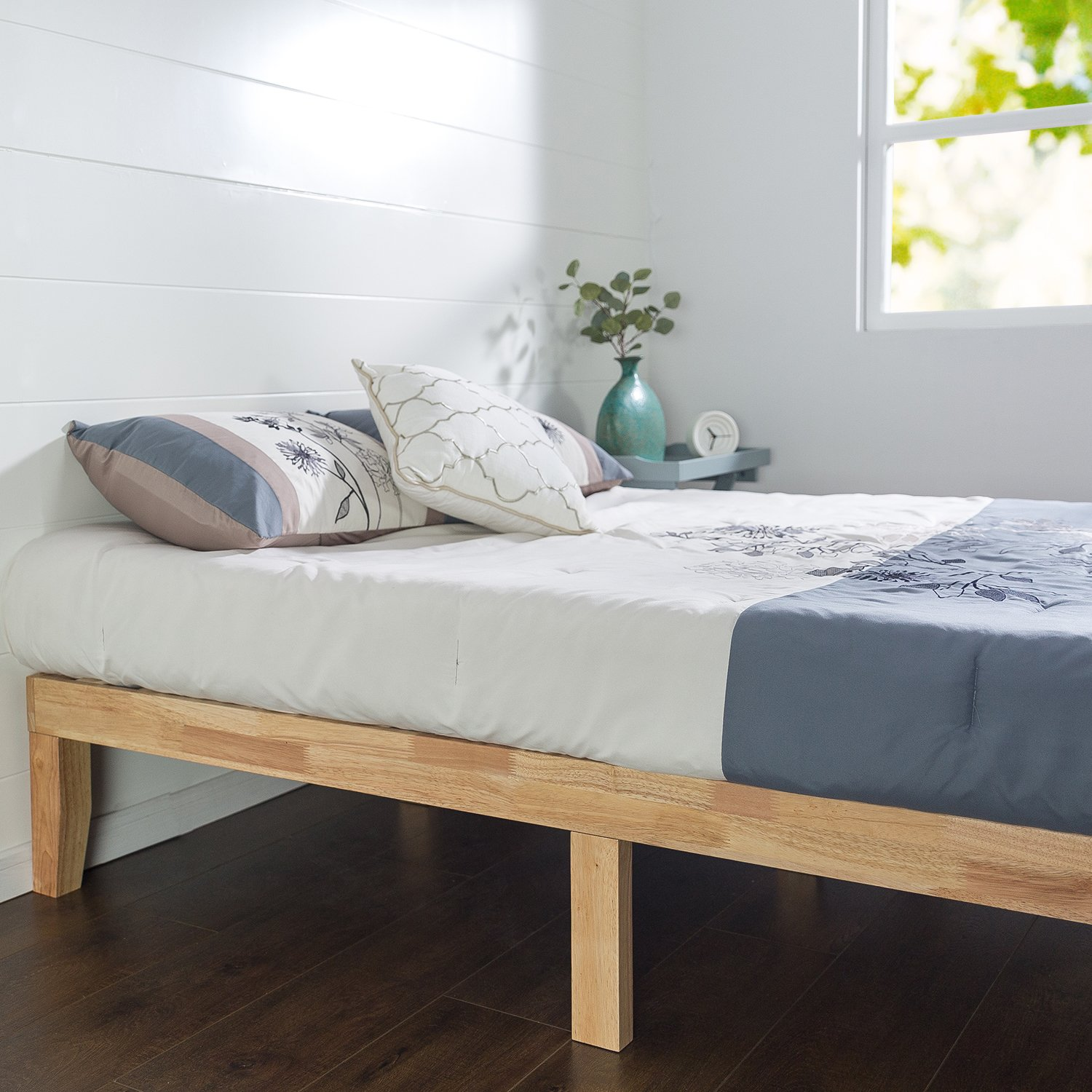 Zinus 14 Inch Wood Platform Bed / No Boxspring Needed / Wood Slat Support / Natural Finish, Twin by Zinus (Image #3)