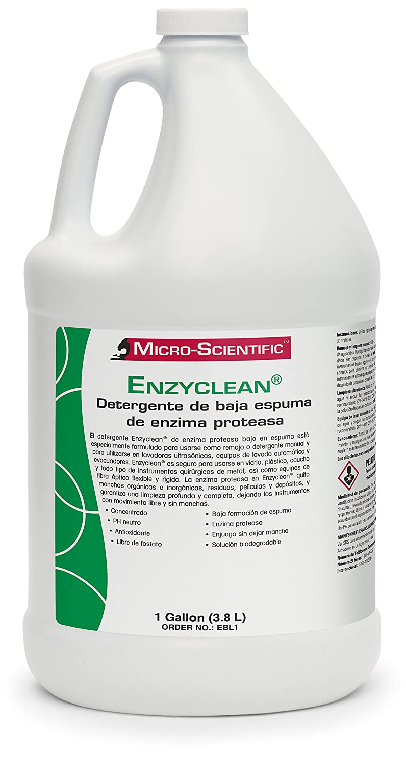 Micro-Scientific EBL1 Enzyclean Protease Enzyme Low Suds ...