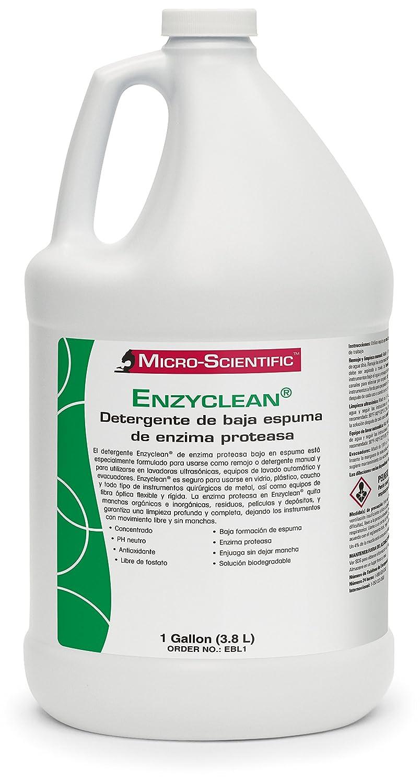 Micro-Scientific EBL1 Enzyclean Protease Enzyme Low Suds Detergent ...