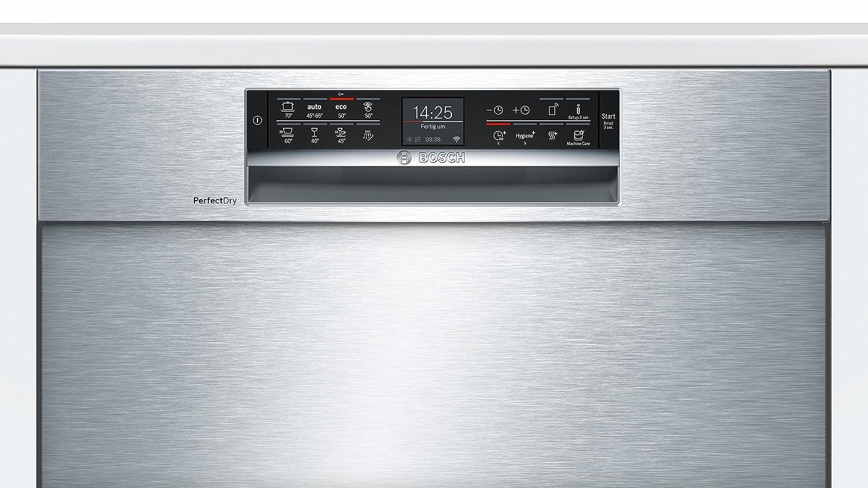 Bosch Serie 6 SMU68TS06E lavavajilla Semi-incorporado 14 ...