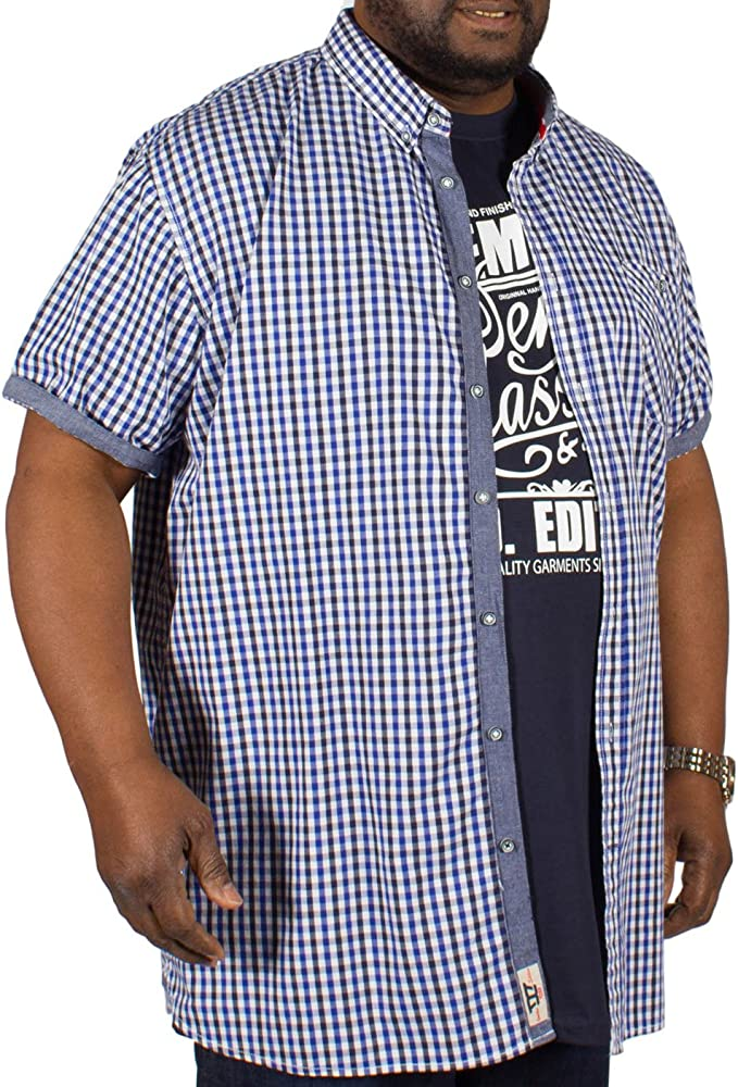 Juego de camiseta y camisa Duke Big Tall King Size D555 – Azul 2XL 3XL 4XL 5XL 6XL Azul azul XX - Large: Amazon.es: Ropa y accesorios